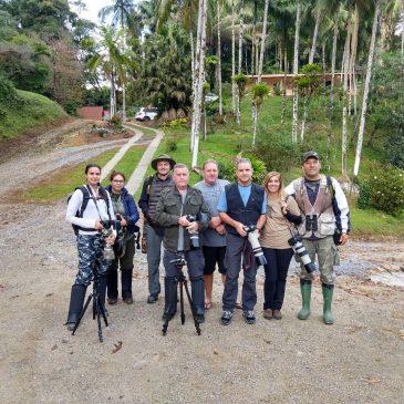 11 a 13 de maio 2018. Observação de aves na Trilha dos Tucanos com os amigos Belmira, James, Sara, Rafael e Paula.