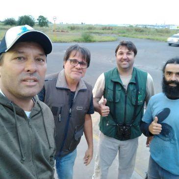 04 a 08 de Junho. Expedição por cidades do Sul do estado de São Paulo. Mostrando novas aves aos amigos Ernani Oliveira e Alexandre Vidal. Parte 1 - Americana SP