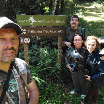 05 a 07 de Julho de 2018. Expedição para observação e fotografia de aves com os amigos Maria Cecília, Fernando e Renata pelo Parque Nacional do Itatiaia e seu entorno.