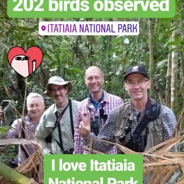 19 a 22 de Julho de 2018. Expedição com grupo de clientes da Wild Brasil pela região do Parque Nacional do Itatiaia e seu entorno.
