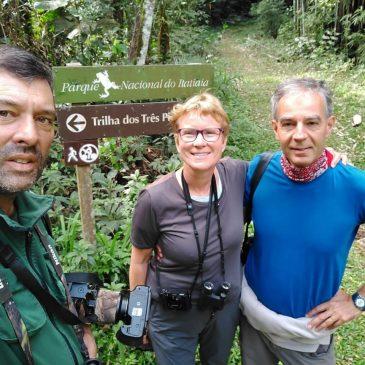 22 a 24 de Agosto de 2018. Expedição com clientes da Wild Brasil - Fabio Nägeli e Catherine pela região do Parque Nacional do Itatiaia e seu entorno.