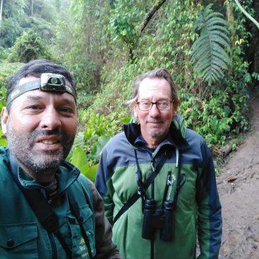 28 a 31 de  Agosto - Expedição pelo sul do estado de São Paulo com o amigo sueco Mats Hildeman