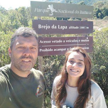 08 de Setembro de 2018. Mostrando as aves do Parque Nacional do Itatiaia a amiga  Giselle Confidenti.