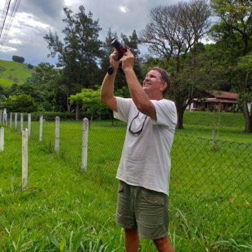 Dia 21 de Dezembro de 2019. Mostrando as aves da região do Parque Nacional do Itatiaia ao amigo americano Michael Ayers.