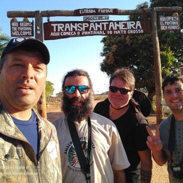 09 a 19 de Agosto de 2019. Expedição pelo estado do Mato Grosso com os amigos Alexandre Vidal, Ernani Oliveira e Felipe Queiroz