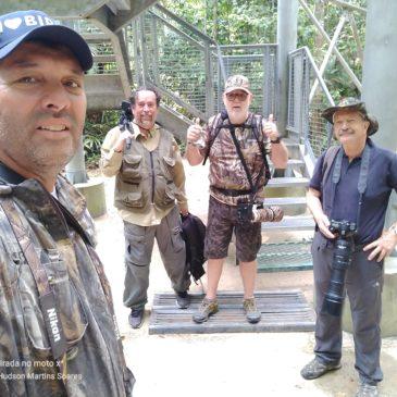 20 a 28  de Agosto de 2019. Expedição pelo estado do Amazonas com os amigos Osmar Santos, Silas Marques e o casal Hans e Eliana