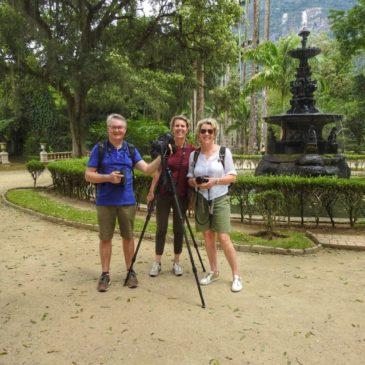 21 de fevereiro de 2020. Saída para observação de aves no Jardim Botânico da cidade do Rio de Janeiro com o Peter Vandeputte da Bélgica.