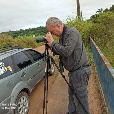 29 de fevereiro de 2020. Saída para observação de aves pela da Serra do Japi em Jundiaí SP,  com o inglês Robert Biggs