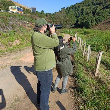 08 e 10 de Agosto de 2020 - Expedição para observação e fotografia de aves pelo Parque Nacional do Itatiaia  e região com o casal Johannes e Ana Cláudia.