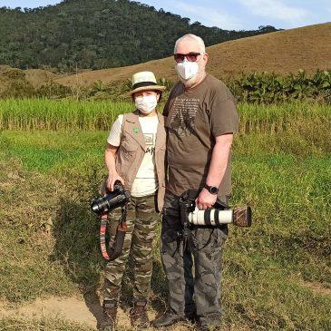 18 a 21 de Agosto de 2020 - Expedição para observação e fotografia de aves pelo Parque Nacional do Itatiaia e região com o casal Osmar e Martha Lima