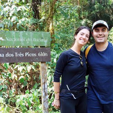 07 de Setembro de 2020 - Expedição para observação de aves pelo Parque Nacional do Itatiaia com o casal Bruna e Lucas.