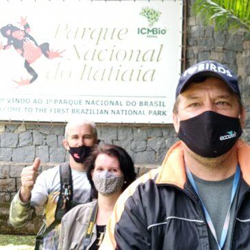 31 a 02 de Novembro de 2020 - Expedição para observação e fotografia de aves pelo Parque Nacional do Itatiaia com Celmo Coutinho e Maria Eugênia.