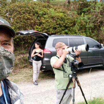 07 e 08 de Novembro de 2020 - Expedição para fotografia de aves pelo Parque Nacional do Itatiaia o casal Ricardo e Eliza e também João Quental.