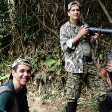 28 de Novembro de 2020 - Expedição para fotografia de aves pelo Parque Nacional do Itatiaia com o grupo de fotógrafos do estado do Espírito Santo - Gil Peres, Walker e.