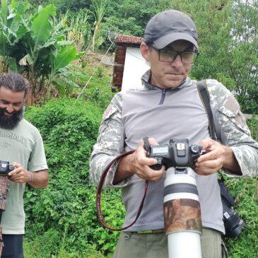 30 de novembro e 1 e 2 de Dezembro 2020. - Expedição para gravação do programa aventura Animal e fotografia de aves pelo Parque Nacional do Itatiaia com o grupo Vidal Ornellas, Juran Santos e