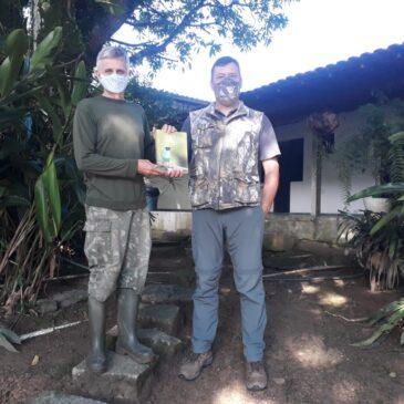 04 de Janeiro de 2021 - Expedição para fotografia de aves pelo Parque Nacional do Itatiaia com o fotógrafo Cristiano Voitina.