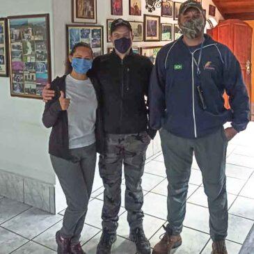 05, 06, 08 e 09 de Junho de 2021 - Expedição para observação e fotografia de aves pelo Parque Nacional do Itatiaia e Serra da Bocaina com o casal Yoann e Alinne.