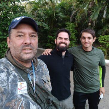 05 de Julho de 2021 - Expedição para fotografia de aves pelo Parque Nacional do Itatiaia com o fotógrafo Fábio e seu amigo Willian.