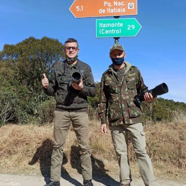 16 a 18 de junho de 2021 - Expedição para observação e fotografia de aves pelo Parque Nacional do Itatiaia e Serra da Bocaina com os irmãos Helder e Fernando.