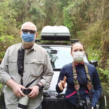 02 a 07 de Outubro de 2021 - Expedição para fotografia de aves no Parque Estadual Intervales com o casal Osmar e Martha.